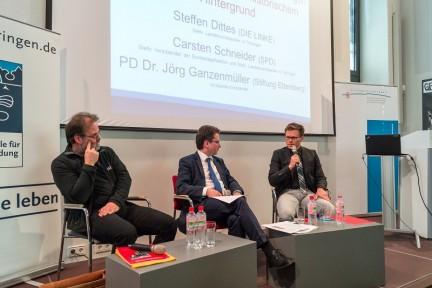 Abschlusspodium zum Wissenschaftlichen Tagesseminar: Kommunistische Machtübernahmen in Europa nach dem Zweiten Weltkrieg