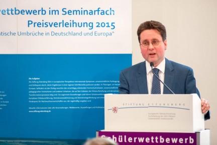Vorstandsvorsitzender der Stiftung Ettersberg: PD Dr. Jörg Ganzenmüller