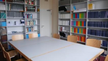 Seminarraum der Bibliothek