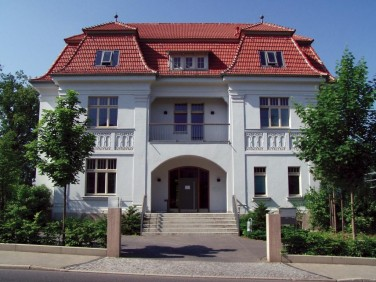 Registered office of the Ettersberg Foundation in Weimar, Jenaer Str. 4.